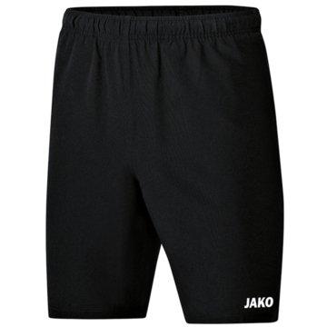 Jako Kurze Sporthosen schwarz