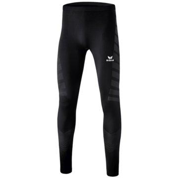 Erima Lange Unterhosen schwarz