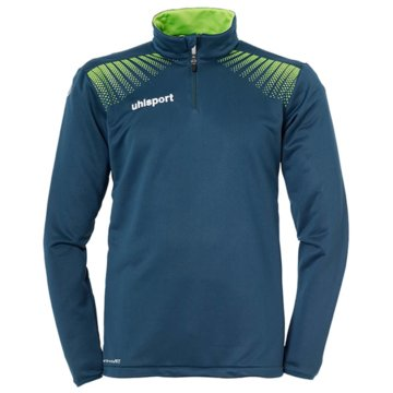Uhlsport SweaterGOAL 1/4 ZIP TOP - 1005164 blau