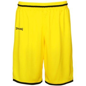 Spalding Basketballshorts gelb