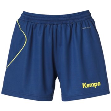 Uhlsport kurze Sporthosen blau