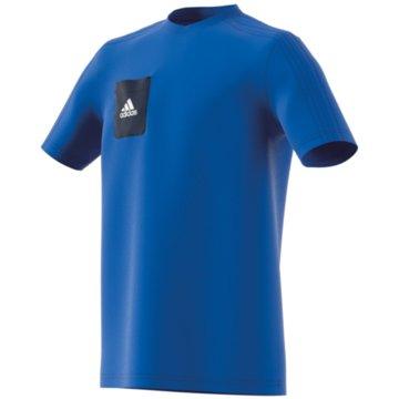 adidas Funktionsshirts blau