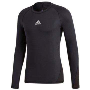 adidas Shirts & TopsASK LS TEE Y - CW7324 schwarz