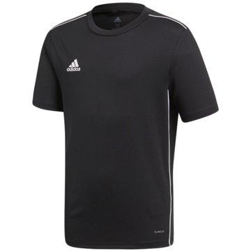 adidas FußballtrikotsCORE18 JSY Y - CE9020 schwarz