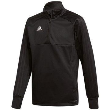 adidas SweatshirtsCON18 TR TOP2 Y - CG0399 schwarz