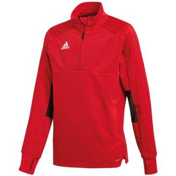 adidas SweatshirtsCON18 TR TOP2 Y - CG0401 rot