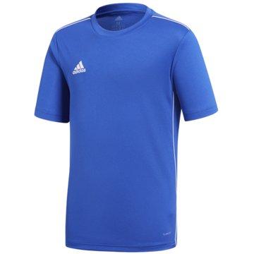 adidas FußballtrikotsCORE18 JSY Y - CV3495 blau