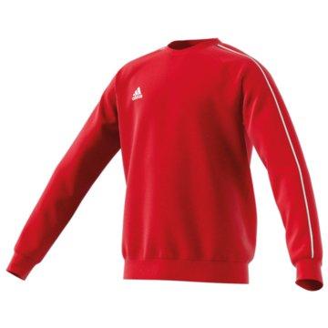 adidas SweatshirtsCORE18 SW TOP Y - CV3970 rot