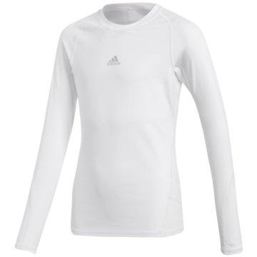 adidas Shirts & TopsASK LS TEE Y - CW7325 weiß