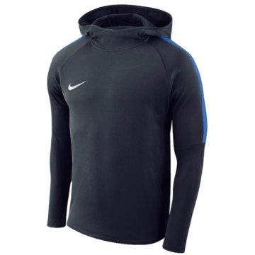 Nike HoodiesBOYS' DRY ACADEMY18 FOOTBALL HOODIE - AJ0109-451 blau