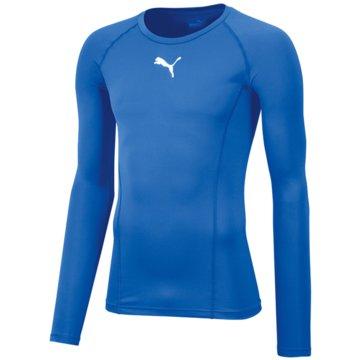 Puma Langarmshirts blau