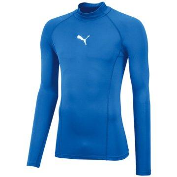 Puma LangarmshirtLIGA BASELAYER TEE LS WARM - 655922 blau