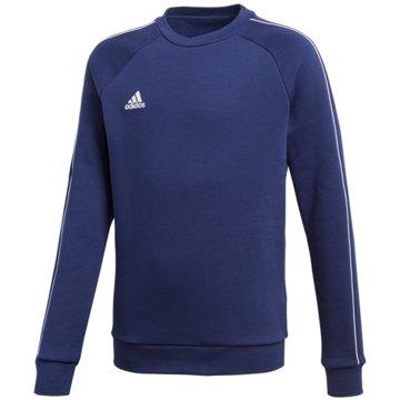 adidas SweatshirtsCORE18 SW TOP Y - CV3968 blau