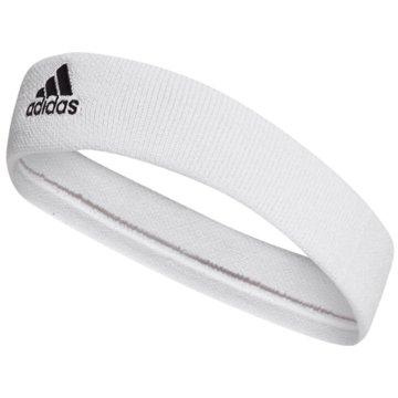 adidas StirnbänderTENNIS HEADBAND - CF6925 weiß