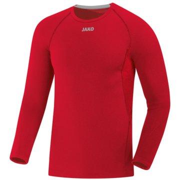 Jako Shirts & TopsLONGSLEEVE COMPRESSION 2.0 - 6451 rot