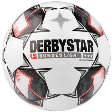 Derby Star BälleBundesliga Brillant Mini weiß