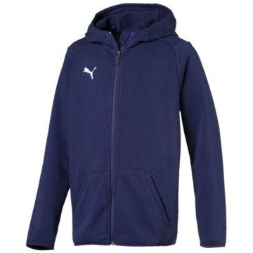 Puma Sweatjacken blau
