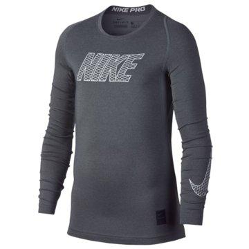 Nike Langarmshirt grau