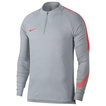 Nike SweaterDry Squad 18 Drill Top LS grau
