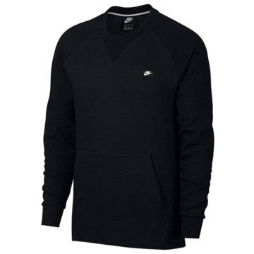 Nike SweaterNIKE SPORTSWEAR OPTIC FLEECE MEN'S - 928465 schwarz