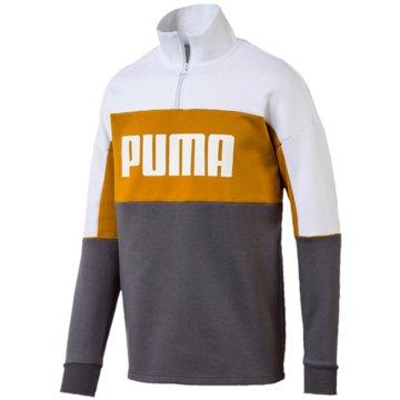 Puma SweaterRetro Crew Turtle Rib Neck grau