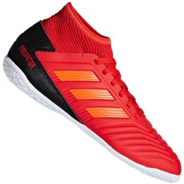 adidas Trainings- und HallenschuhPredator 19.3 rot