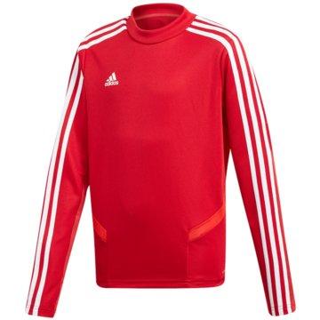 adidas SweatshirtsTIRO19 TR TOPY - D95939 rot