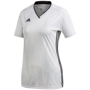 adidas FußballtrikotsTIRO 19 JSY W - DP3188 weiß