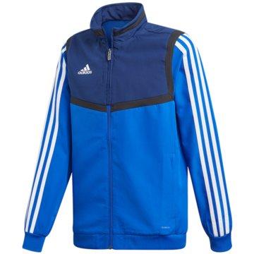 adidas TrainingsjackenTIRO19 PRE JKTY - DT5268 blau
