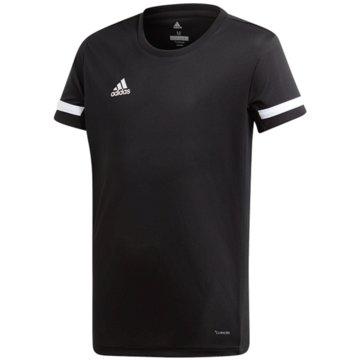 adidas T-ShirtsT19 SS JSY YG - DW6787 schwarz