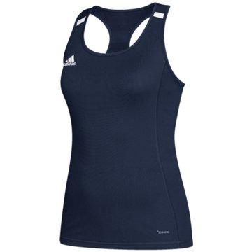 adidas TopsTEAM 19 COMPRESSION TANKTOP - DY8869 blau