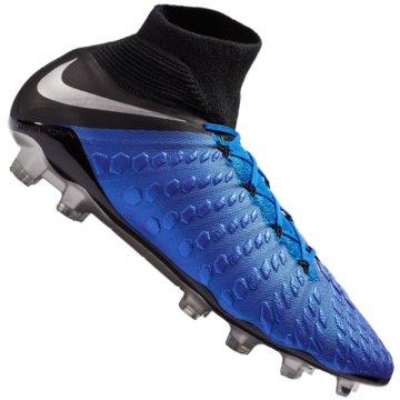 Nike Nocken-SohleHypervenom 3 Elite Dynamic Fit FG blau