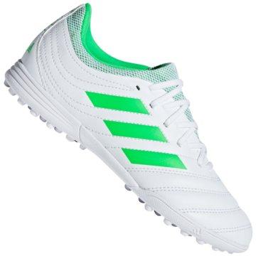 adidas Multinocken-SohleCopa 19.3 TF Fußballschuh - D98086 weiß
