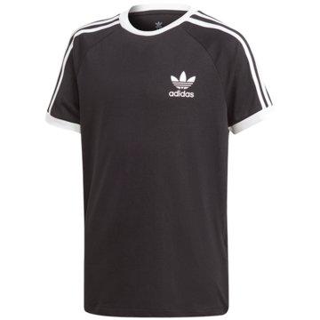 adidas T-Shirts3STRIPES TEE - DV2902 schwarz