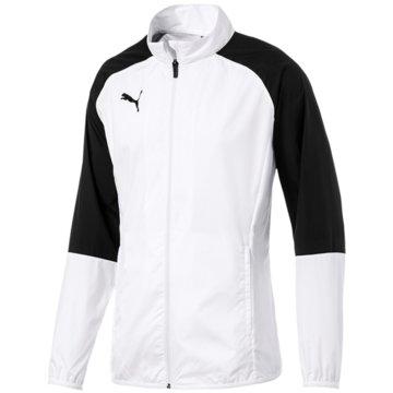 Puma Trainingsjacken weiß
