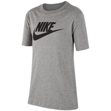 Nike T-ShirtsB NSW TEE FUTURA ICON TD - AR5252 grau