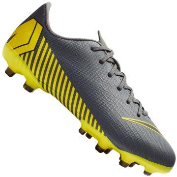 Nike Nocken-SohleJR VAPOR 12 ACADEMY GS FG/MG grau