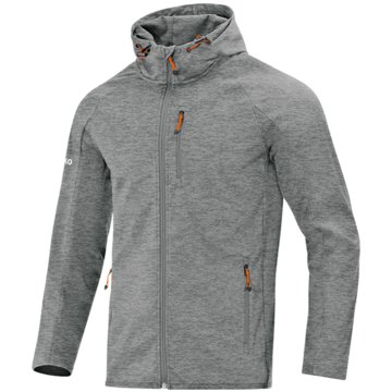 Jako TrainingsjackenSOFTSHELLJACKE LIGHT - 7605D grau