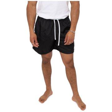 Nike kurze SporthosenSportswear Flow Short schwarz