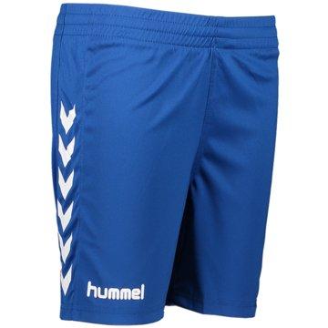 Hummel Fußballshorts blau