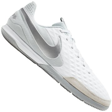 Nike Hallen-SohleLEGEND 8 ACADEMY IC,WHITE/CHROME-PU -
