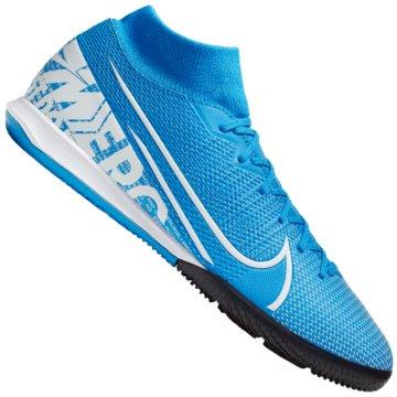 Nike Hallen-SohleSUPERFLY 7 ACADEMY IC blau