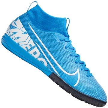 Nike Hallen-SohleNike Jr. Mercurial Superfly 7 Academy IC - AT8135-010 blau