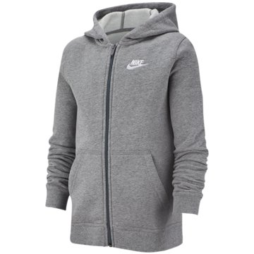 Nike SweatjackenNike Sportswear Club Big Kids' Full-Zip Hoodie - BV3699-091 grau