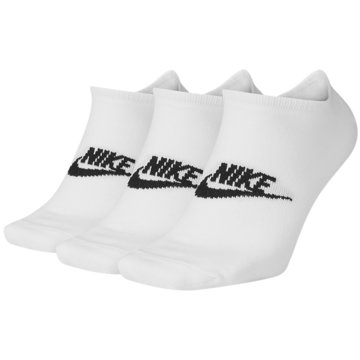 Nike Hohe SockenNike Sportswear Everyday Essentials No-Show Socks (3 Pairs) - SK0111-100 -