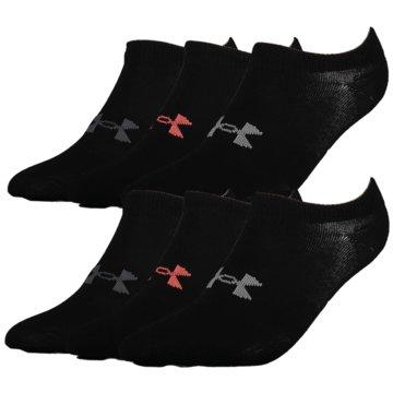 Under Armour Füßlinge & SneakersockenRUN CUSHION CREW - 1331200 schwarz