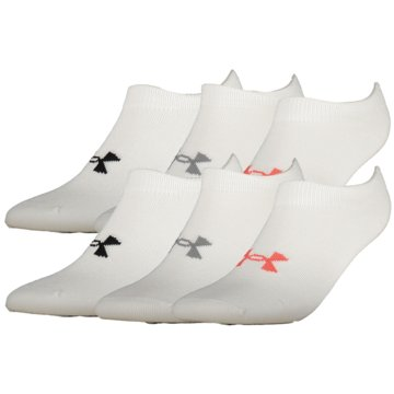 Under Armour Hohe SockenEssentials No Show Socks 6er-Pack Women -