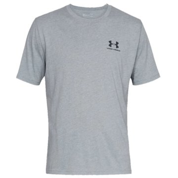 Under Armour Funktionsshirts SPORTSTYLE LEFT CHEST KURZARM-OBERTEIL - 1326799 grau