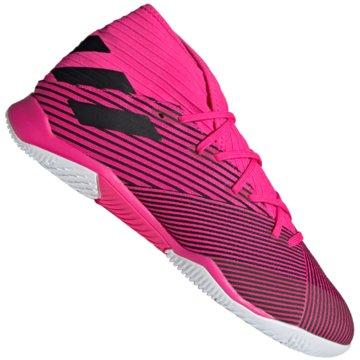 adidas Hallen-SohleNEMEZIZ 19.3 IN pink