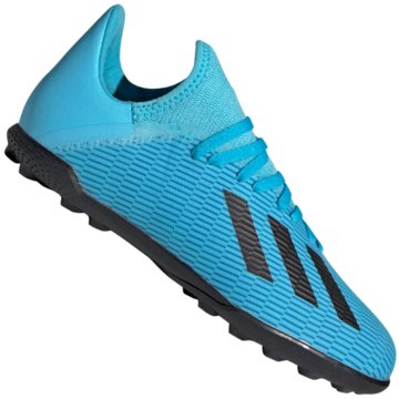 adidas Multinocken-SohleX 19.3 TF J - F35357 blau